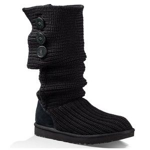 UGG | Classic Cardy Button Detailed Knit Boots 8